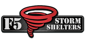 F5 Storm Shelters Logo