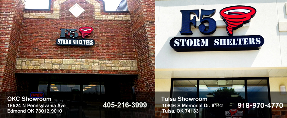 F5 Storm Shelters, tornado shelters, saferooms